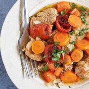 Recette de cuisineSauté de veau aux carottes